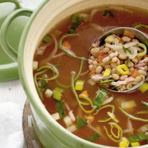 winterminestrone soep