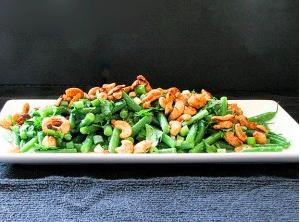 specibonen met noten
