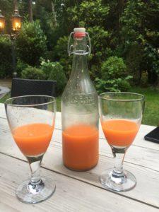 wortel glazen