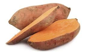 zoete aardappels in oven